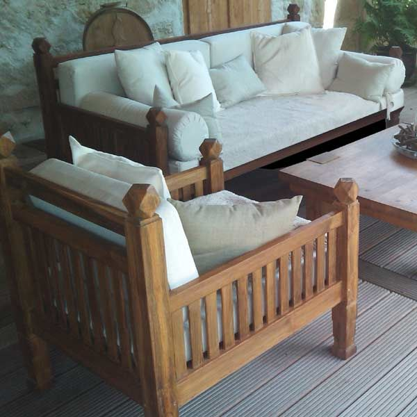 Madura Sofa Teak Recycled