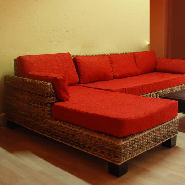 Living Room Chaise Longue - Abaca