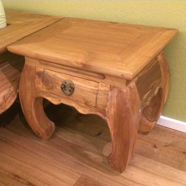 Bed Side Table Opium Thai B